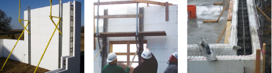 Installer Advantages of Insulated Concrete Forms (ICF)