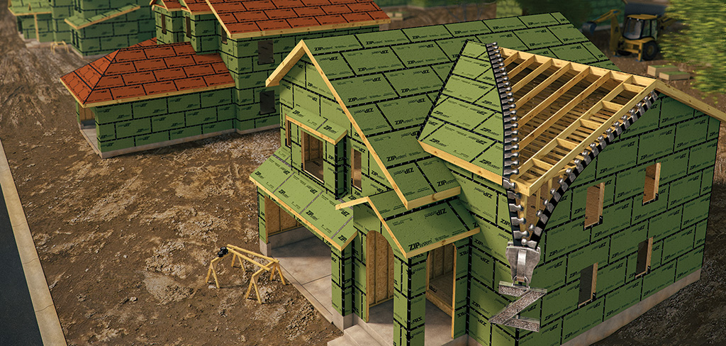 Zip Sheathing: Not Just a Better Insulator