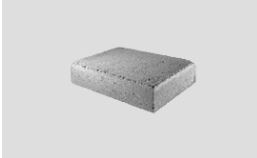 Cast Stone Footer Block