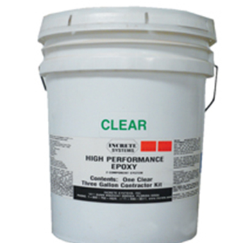Epoxy Kit Clear 3gal kit HP