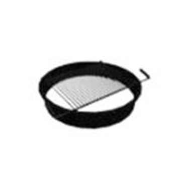 Fire Pit Insert Round W/Grate