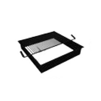 Fire Pit Insert Square W/Grate